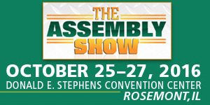 Attend the Assembly Show as a guest of Performance Feeders.