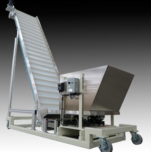 Integrated Food Packaging System with FDA-approved Cleated Belt Conveyor