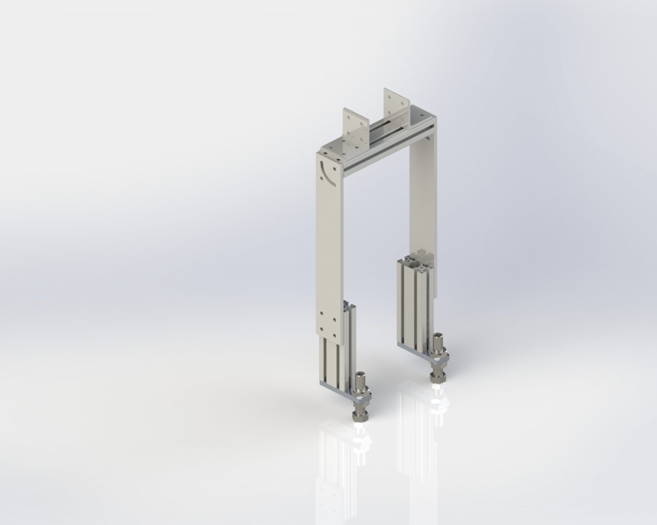 Model 55 Adjustable 6in Floor Stand