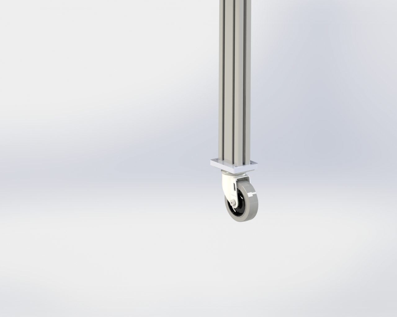 Model 55 Floor Stand Locking Caster