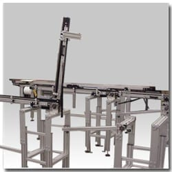 Lift Gate Conveyor Belt Systems Create Walk-Through Access on Your Assembly Line