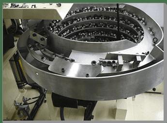 Vibratory Feeder Bowl Closeup