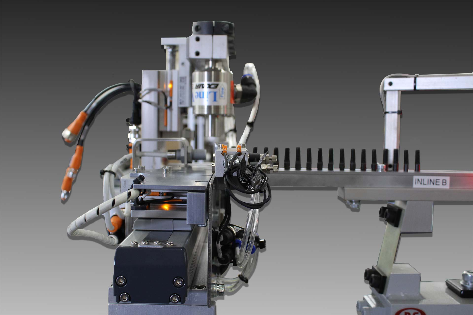 Vibratory Screw Feeder with Rotary Inspection