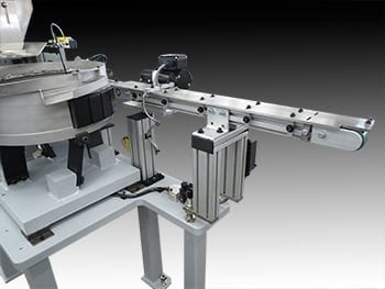 Vision System with Auto-Kinetics Belt Conveyor