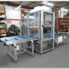 Belt Conveyor System with Airlock Chamber for Medical Packaging