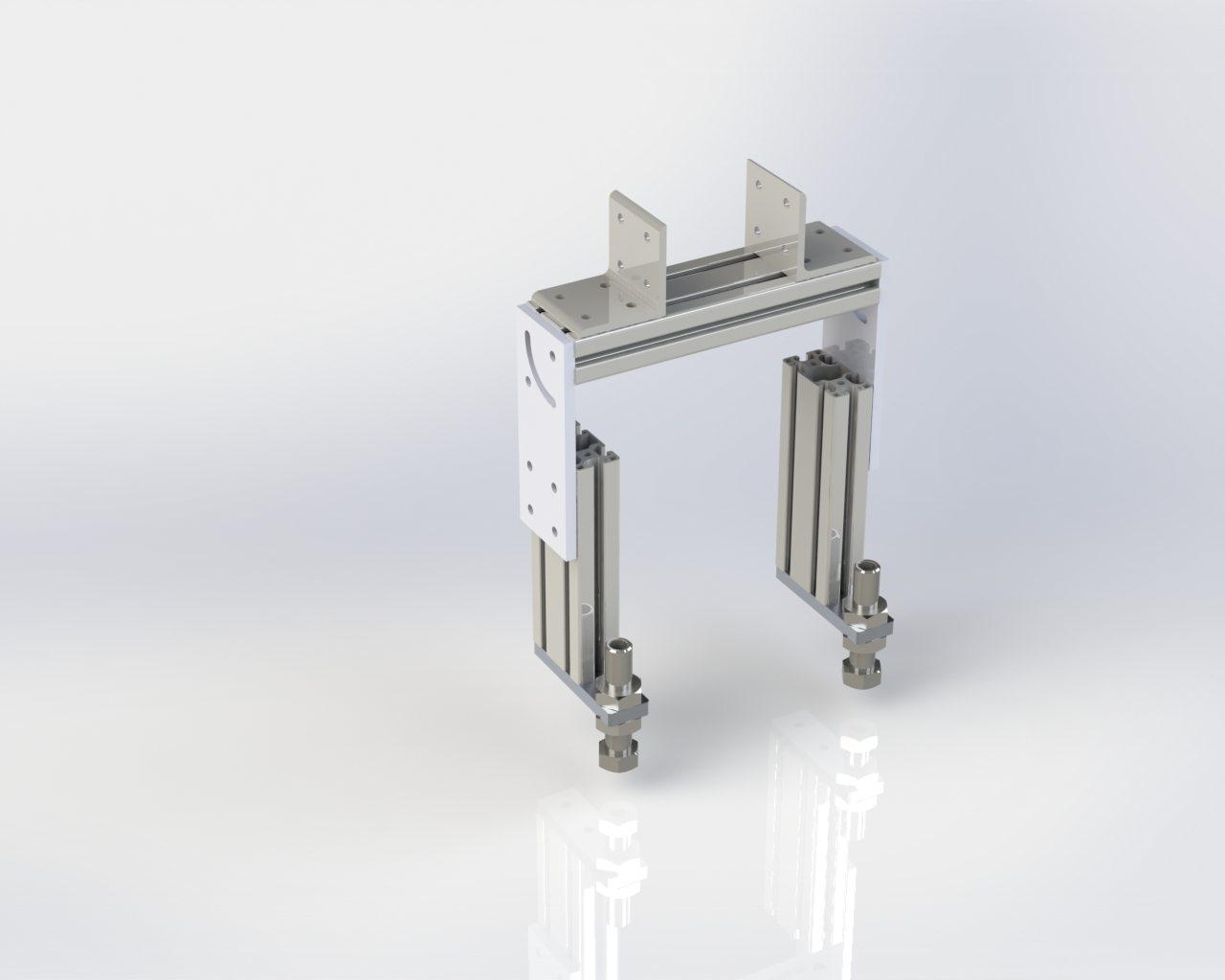 Model 55 Adjustable 3in Floor Stand
