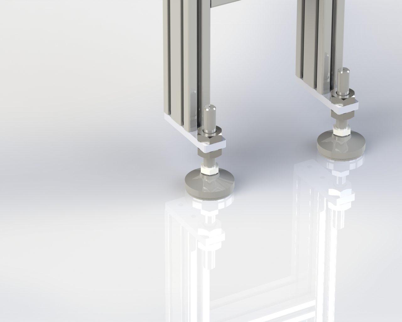 Model 55 Floor Stand Leveling Foot