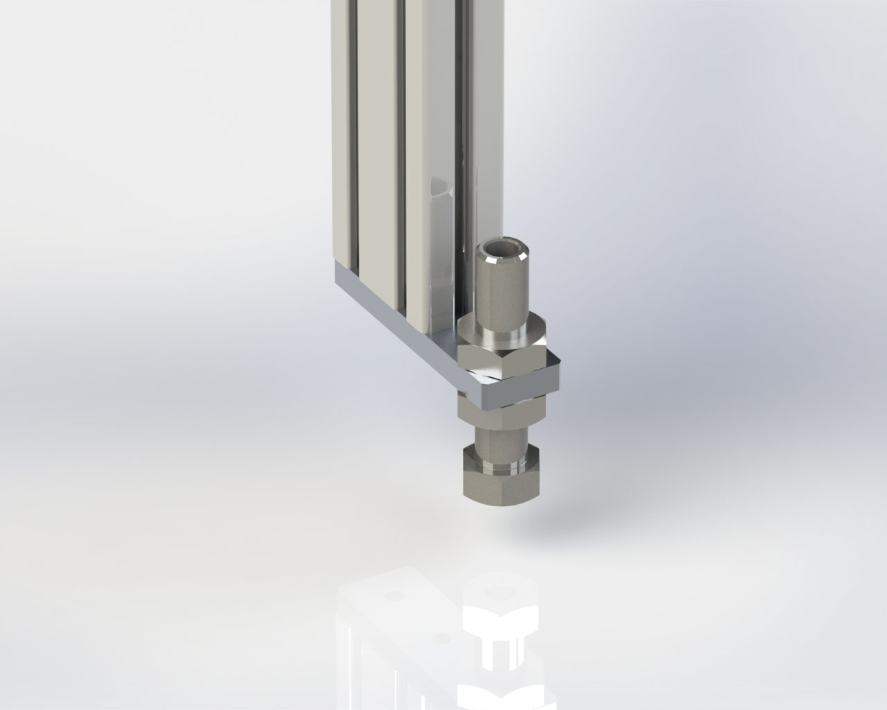 Model 55 Floor Stand Leveling Screw