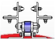 Model 55 4-Way Side Rail - Flat Tee