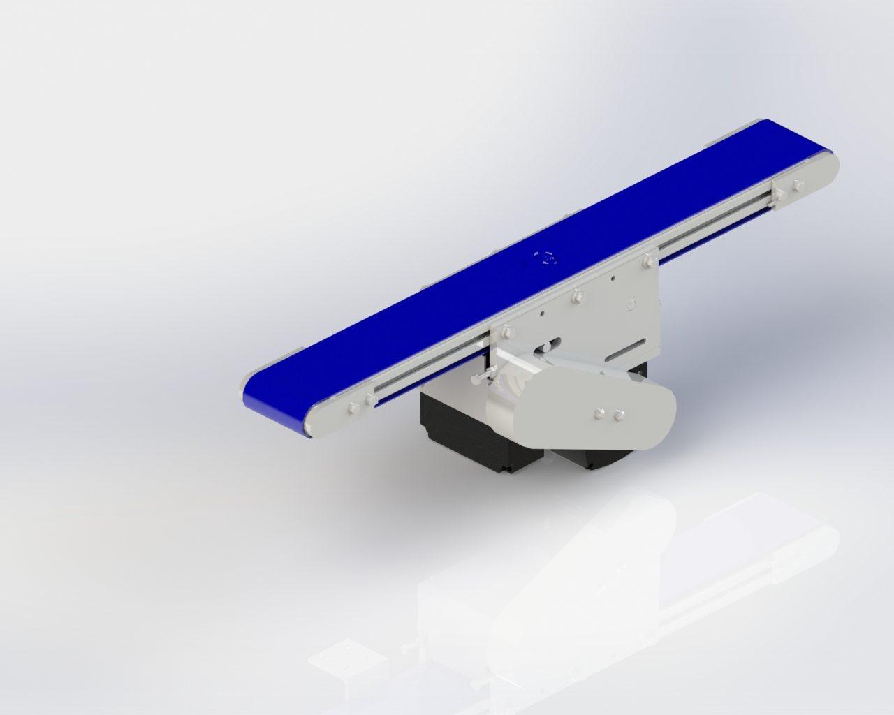 Model 55 Center Drive Conveyor - Undercarriage