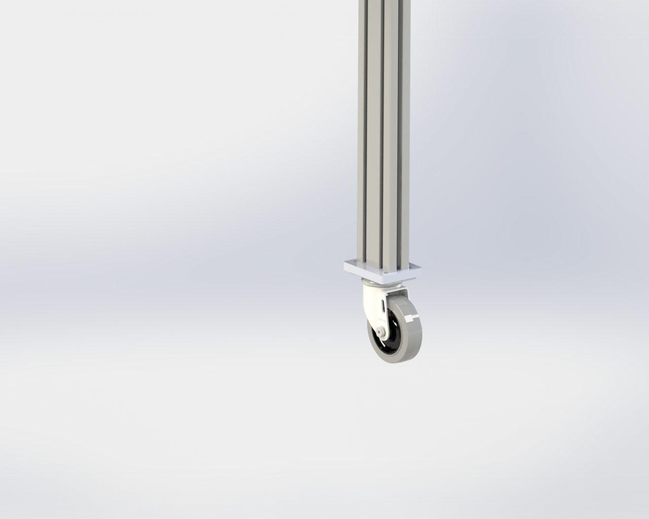 Model 55 Floor Stand Locking Caster